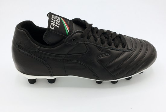 Calcio italia F3 fg voetbalschoen zwart- Maat 40