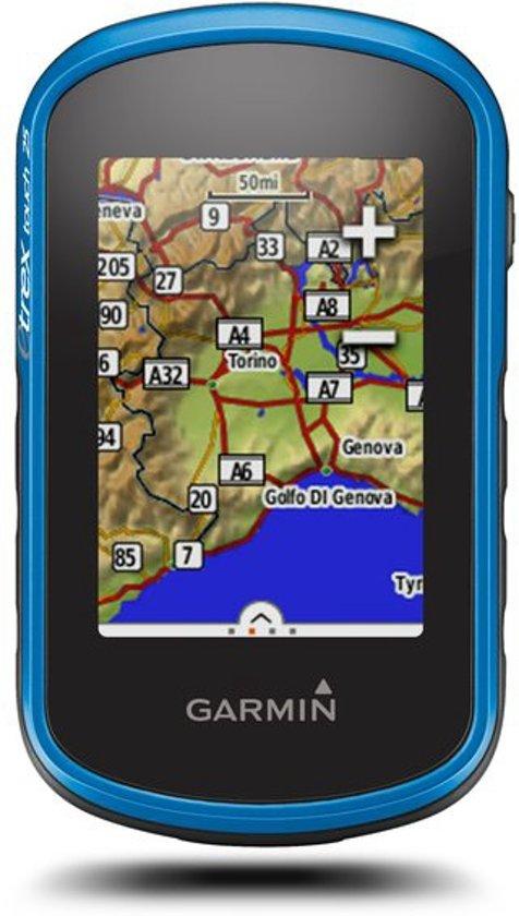 Garmin eTrex Touch 25 - outdoor navigatie West-Europa