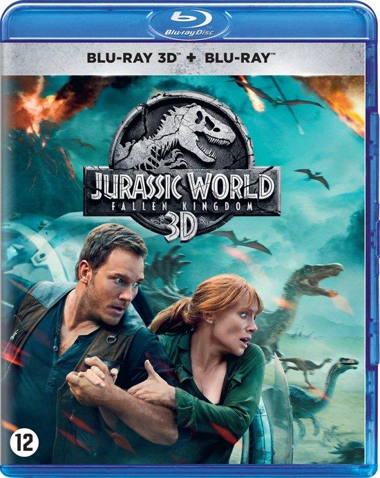 DVD cover van Jurassic World: Fallen Kingdom (3D Blu-ray)
