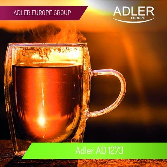 Adler AD 1273 - Waterkoker - RVS - 1.0 liter