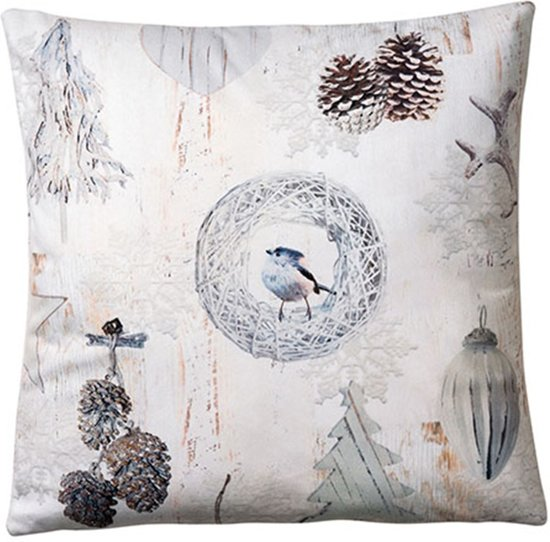 Ambiente Kussen 34x34 White Decorations