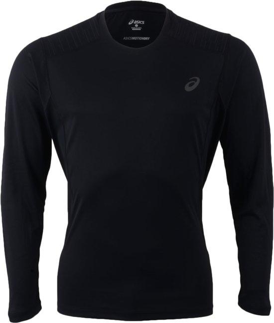 Asics Lite-Show Sportshirt - Maat M - Mannen - zwart