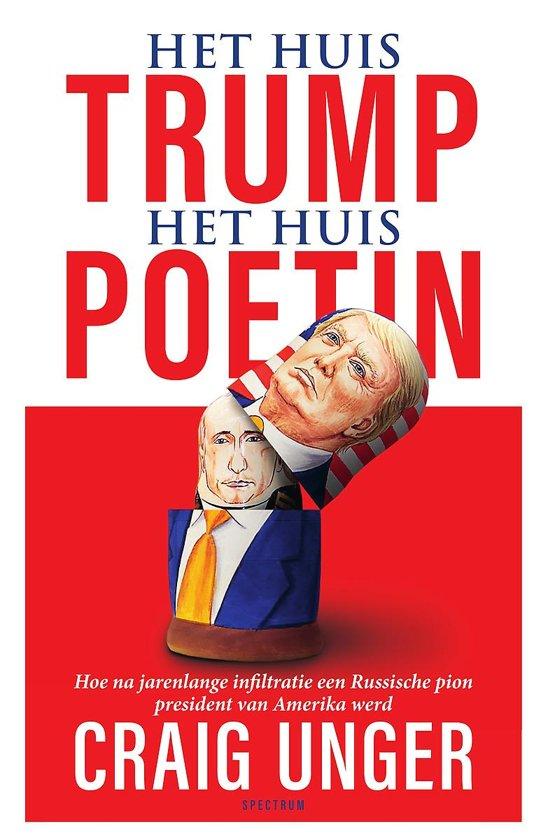 Boek cover Het huis Trump, het Huis Poetin van Craig Unger (Paperback)