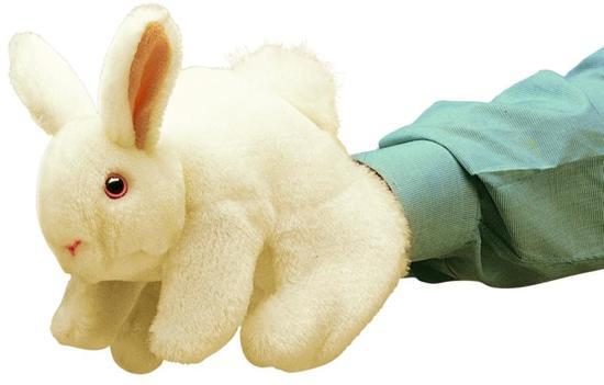 Folkmanis - Handpop konijn