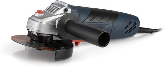 Slijpmachine    710W haakse slijper   115 mm slijpschijf  Elektrische handgreep