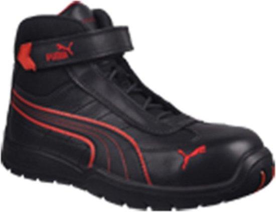 Werkschoenen S3 Puma.Bol Com Puma S3 Werkschoenen Hoog 45 Zwart Rood