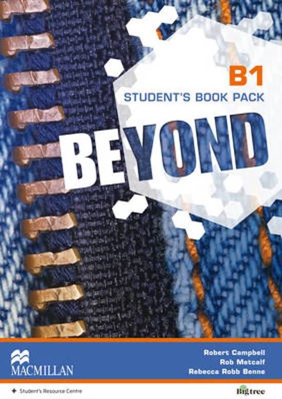 Beyond B1 Student's Book Pack