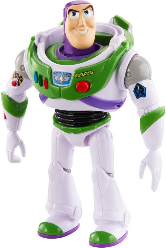 Afbeelding van Toy Story 4 Pratende Buzz Lightyear van 18 cm - Nederlandstalig speelgoed
