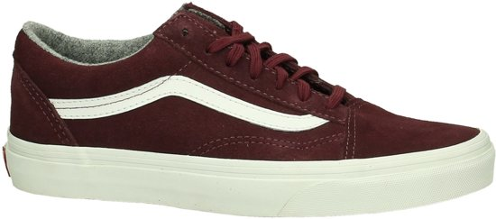 vans old school bordeaux rood