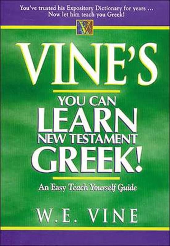 Alle boeken van schrijver we vine 1 10 boek cover vines learn new testament greek van w e vine paperback fandeluxe PDF
