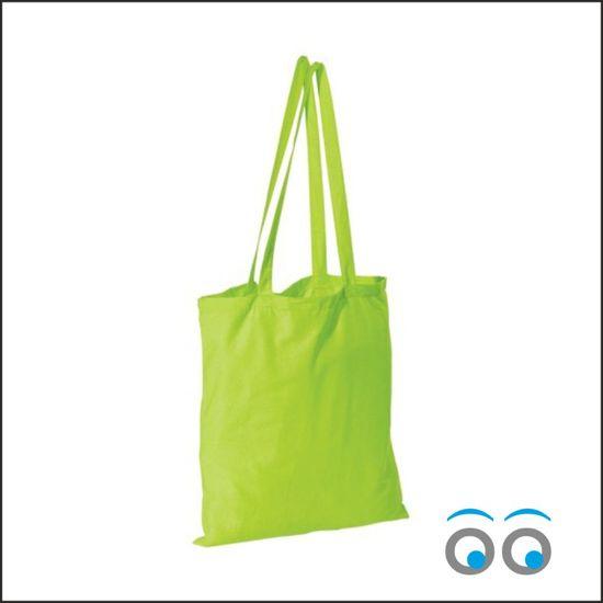 10 stuks kaoenen tas groen (40x35)