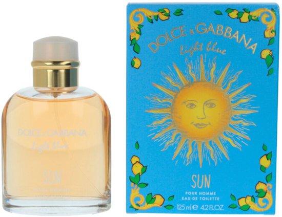 Dolce & Gabbana Light Blue Sun Pour Homme Summer 2019 Eau De Toilette Spray 125ml