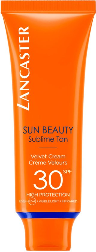 Lancaster Sun Beauty Sublime Tan Velvet Cream SPF 30 Zonnebrand - 50 ml