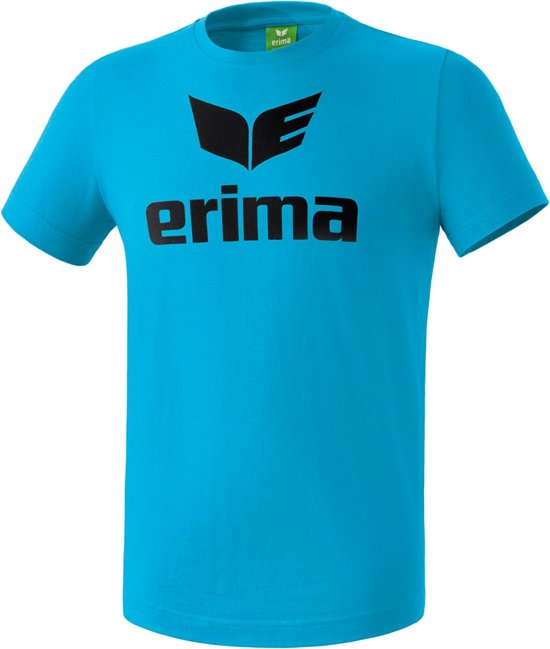 Erima Basics Promo T-Shirt - Shirts  - blauw licht - 2XL