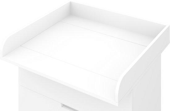 Nordli Ladekast Ikea.Bol Com Polini Aankleedblad Voor Ikea Nordli Commode Wit