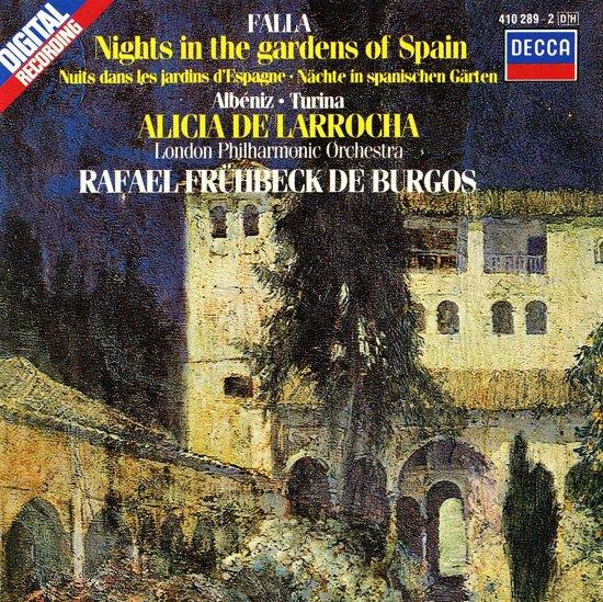 Falla, Albeniz, Turina / De Larrocha, Fruhbeck de Burgos