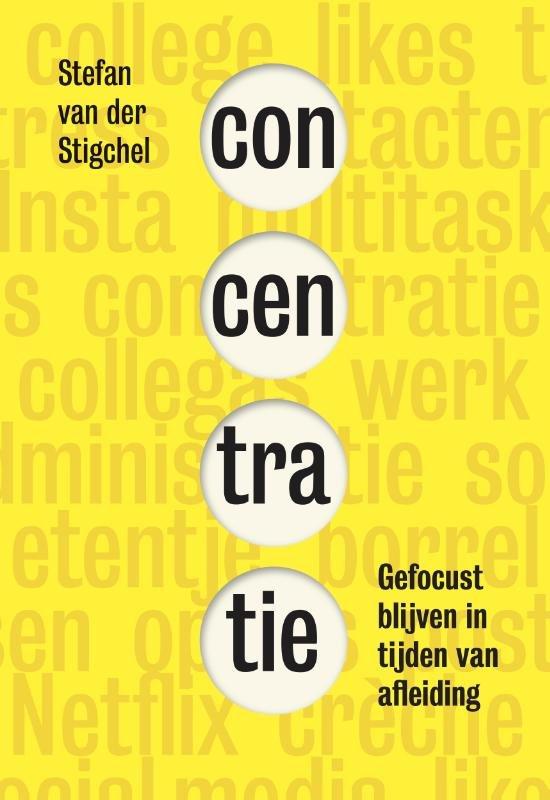 Boek cover Concentratie van Stefan van der Stigchel (Onbekend)