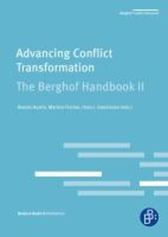 Advancing Conflict Transformation