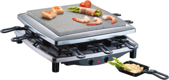 Steba RC3 Plus - Gourmet/Steengrill - Chroom