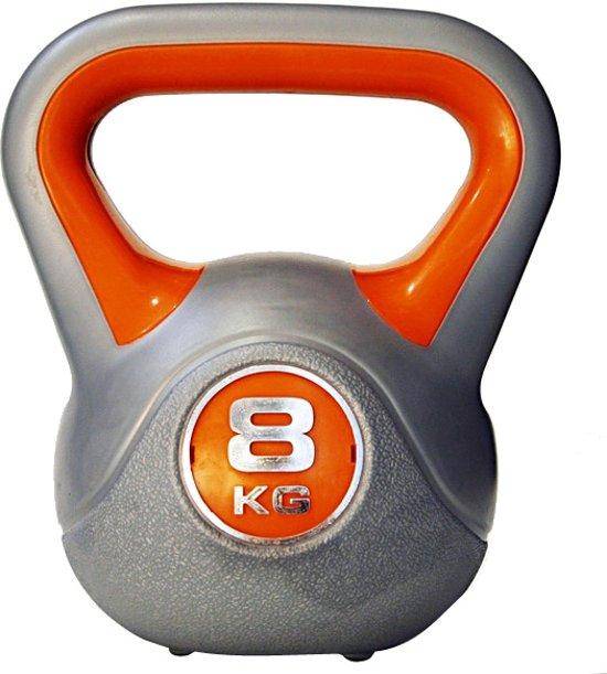 Sportbay Kettlebell - 8 kg - Grijs