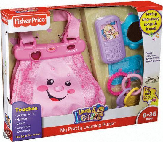 Fisher-Price Laugh en Learn Mijn Mooie Tasje