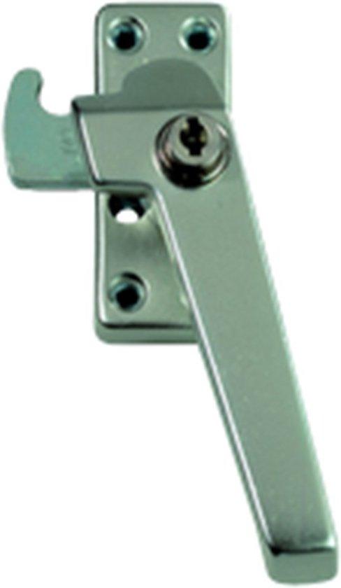AXA 3319 Veiligheids raamsluiting - 3319-51-92/GE - draairichting 3 - Aluminium F2