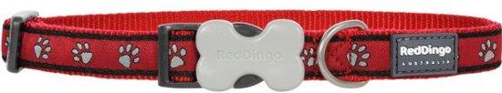 Red Dingo Halsband Hond 15mm 24-36cm DC-PP-RE-15