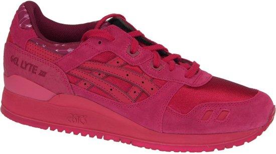 asics gel-lyte iii sneakers rood