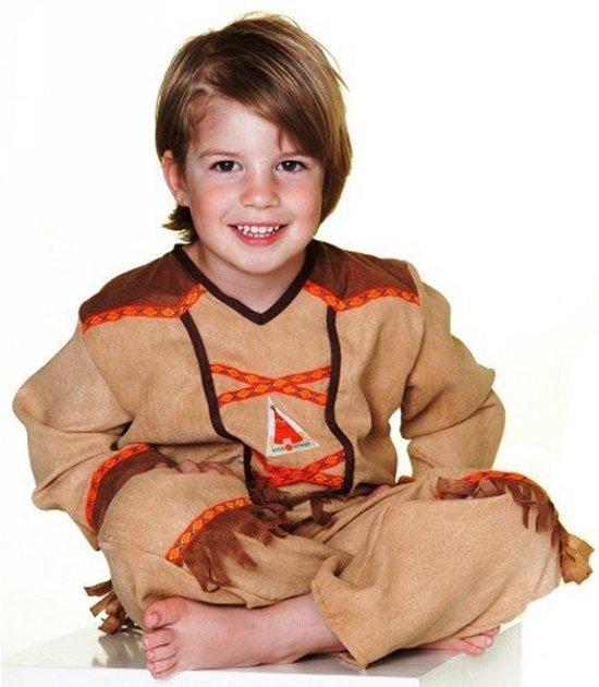Rose & Romeo, Koby Indian jongens set, camel (5-7 jr.) mt. 110/122