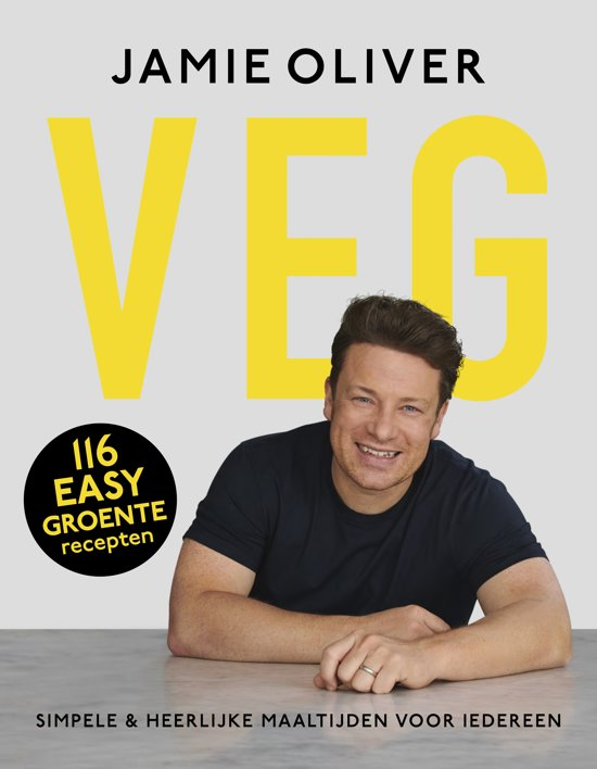 Boek cover Veg van Jamie Oliver (Hardcover)