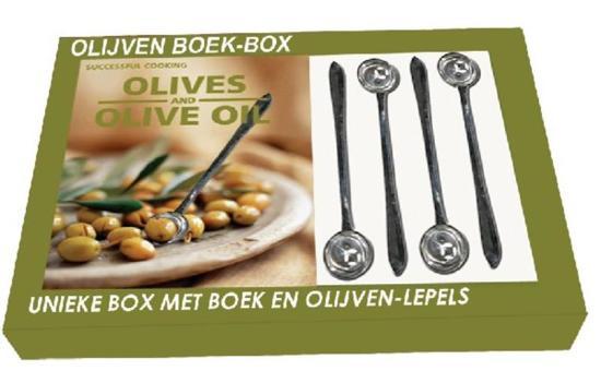 Olijven Boek-Box + Olijvenprikkers - Onbekend  