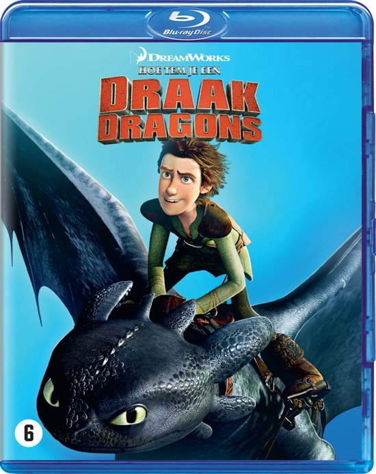 DVD cover van How To Train Your Dragon (Hoe Tem Je Een Draak) (Blu-ray)