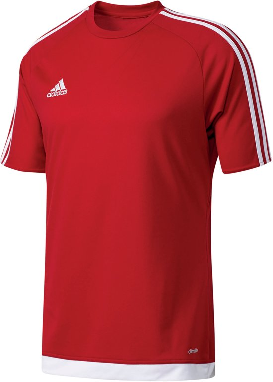 adidas Estro 15 Jersey - Voetbalshirt - Heren - Maat M - Rood/Wit