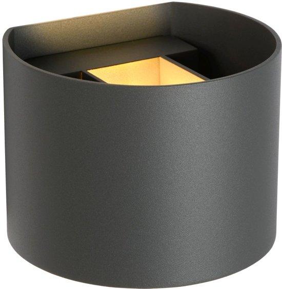 Lucide XIO - Wandlamp - LED Dimb. - G9 - 1x4W 2700K - Grijs