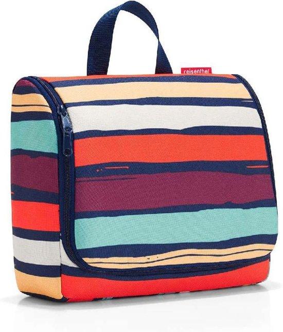 Reisenthel Toiletbag XL Toilettas - Ophangen - Maat XL - Polyester - 4L - Artist Stripes Blauw