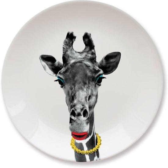 Mustard kinderbord Wild Dining - Giraffe