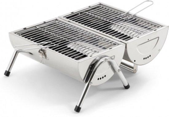 Tepro Billings Opklapbare Picknick Tafelbarbecue RVS