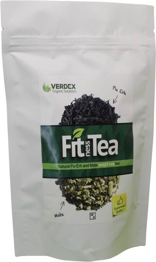 Natuurlijk detox/gewichtsverlies thee (Pu-erh+Mate+CItronella)