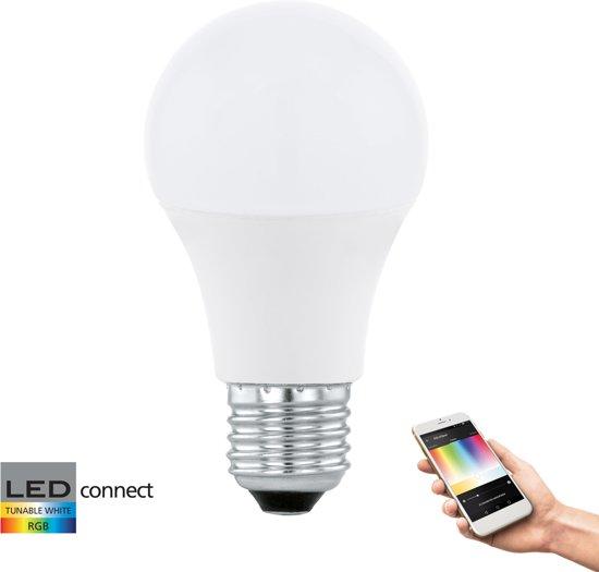 EGLO Connect - Lichtbron - E27 - Wit en gekleurd licht - Ø60 - 806lm