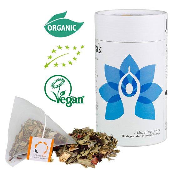 Solaris Tea Solaris Biologische Thee Derde Oog Chakra (15x 2 gram)