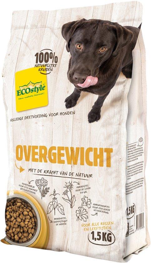 ECOstyle - Hondenvoeding - Stimuleert afvallen - 1,5 kg