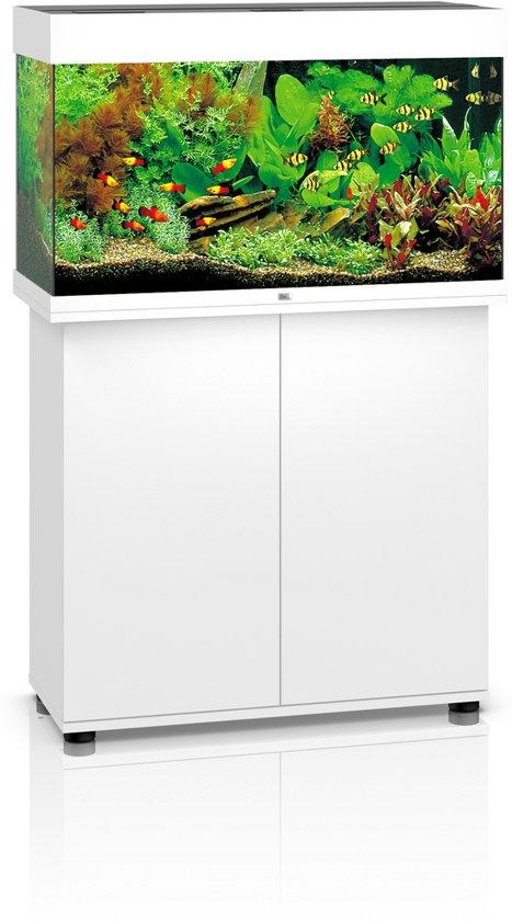 juwel rio aquarium 81x50x36 cm 125l wit. Black Bedroom Furniture Sets. Home Design Ideas