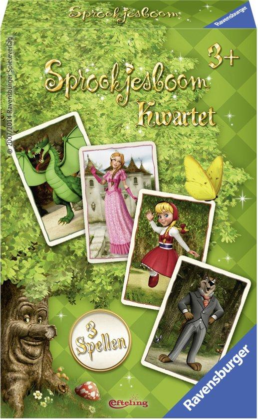 Afbeelding van het spel Ravensburger Efteling Sprookjesboom kwartet
