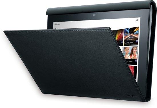 Sony SGP-CV1  Hoesstandaard voor Sony Tablet S - Zwart