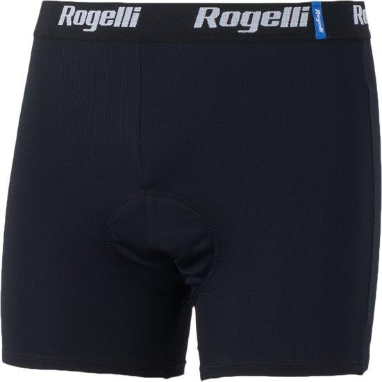 Rogelli Cycling Underwear - Fietsondergoed - Maat M - Heren - Zwart/Wit