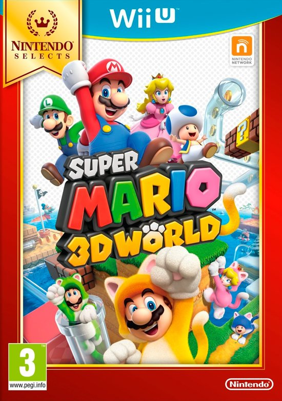 Super Mario 3D World - Nintendo Selects - Wii U