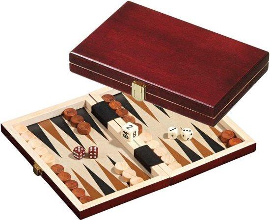 Philos Reis Backgammon cassette Saloniki -19 x 12.5 x 3 cm