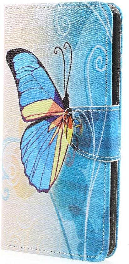 Sony Xperia XA1 Ultra Portemonnee Hoesje Vlinder in Swichum