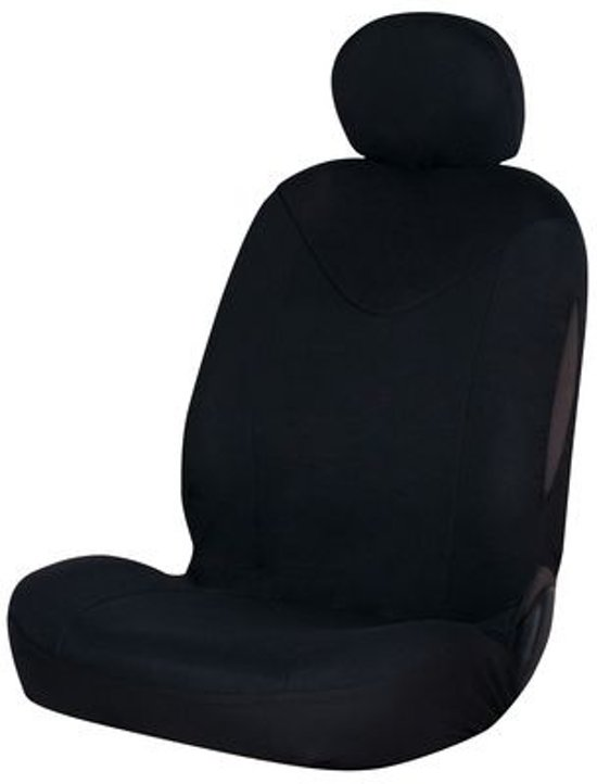 Car Plus Stoelhoes Unicorn Universeel Polyester Zwart