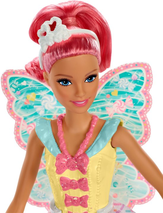 Barbie Dreamtopia Fee Roze